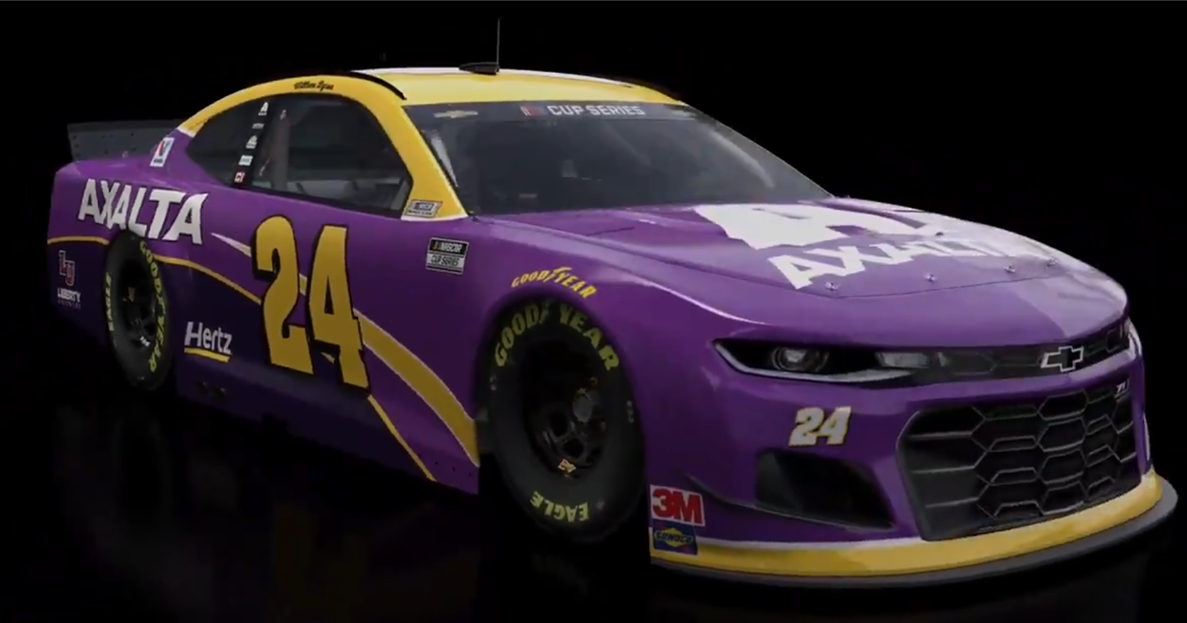 Multiple NASCAR drivers paying tribute to Kobe Bryant at Fontana