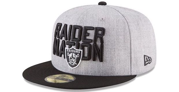 Oakland Raiders official 2018 NFL Draft cap revealed 010aeb2e654