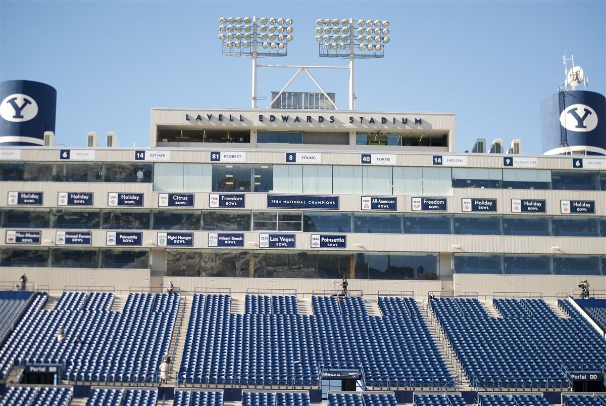 BYU Announces Improvements to LaVell Edwards Stadium