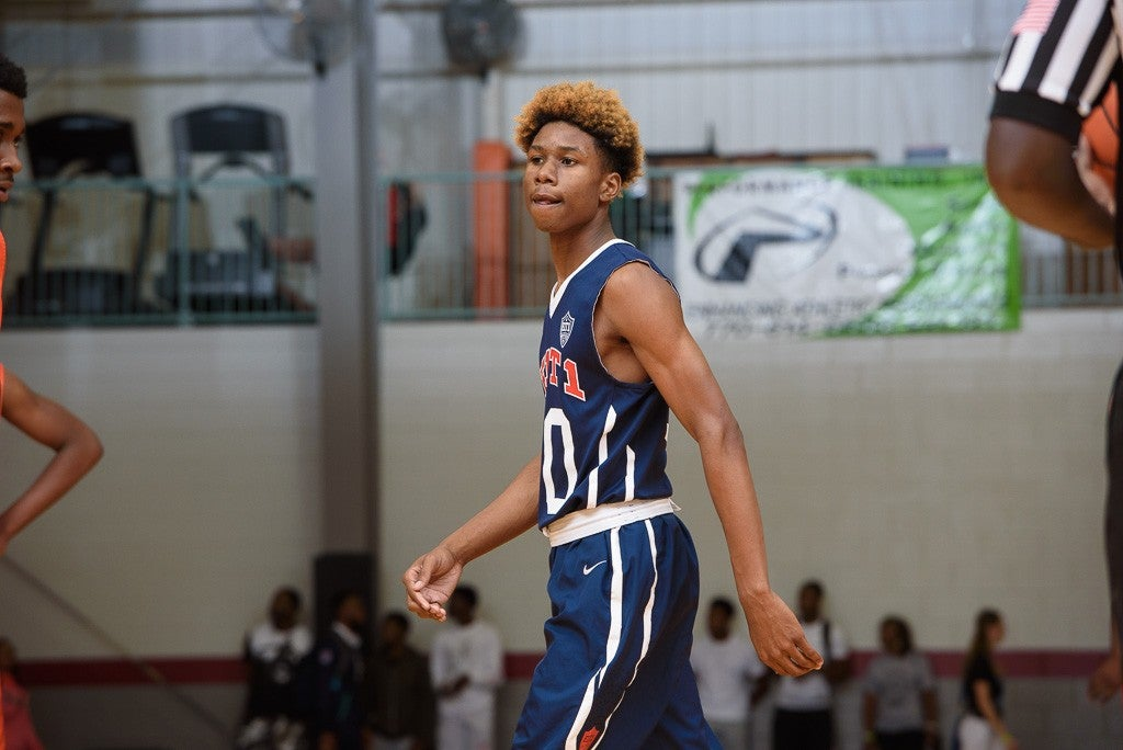Three-star guard Serrel Smith announced on Tuesday his intention to request his release from Ole Miss and reopen his recruitment.