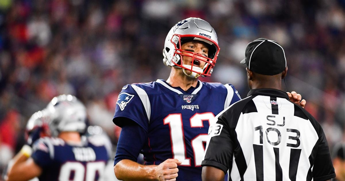 The numbers back up Tom Brady's NFL officiating complaints