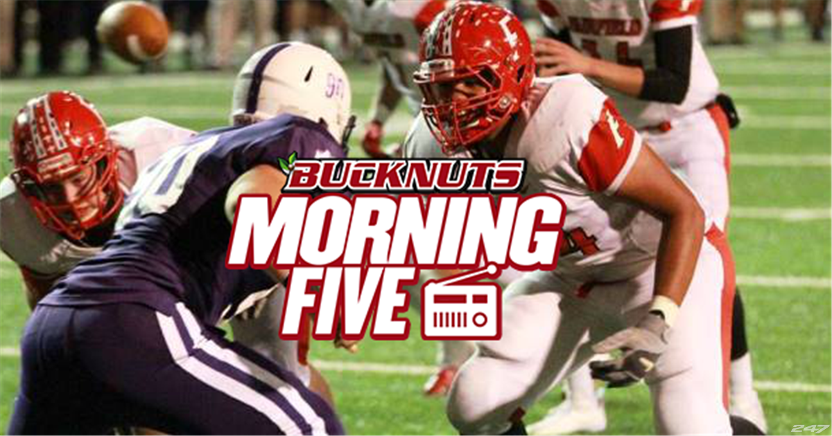 Bucknuts Morning Five explores Ohio State football recruiting the class of 2018