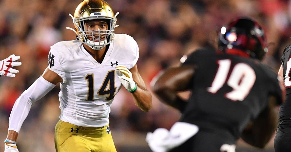 ESPN Names Kyle Hamilton Notre Dame's Most Exciting Player