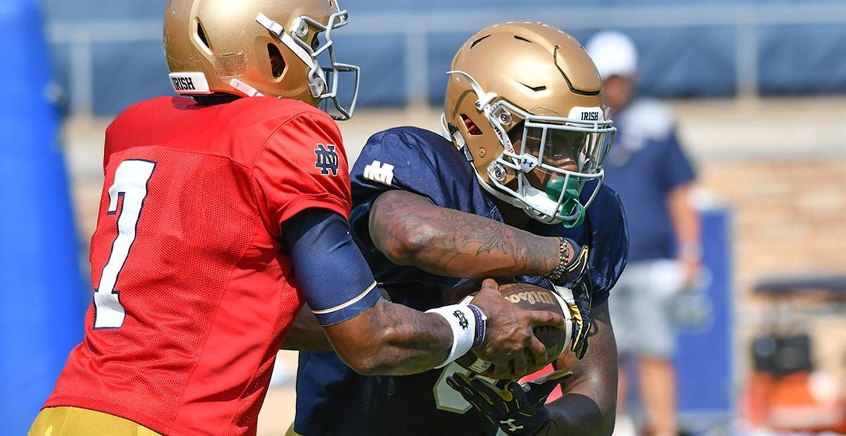 Practice Report: Notre Dame Offense Aug. 11