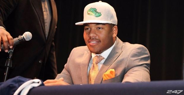 Florida LB David Reese (image via 247 Sports)