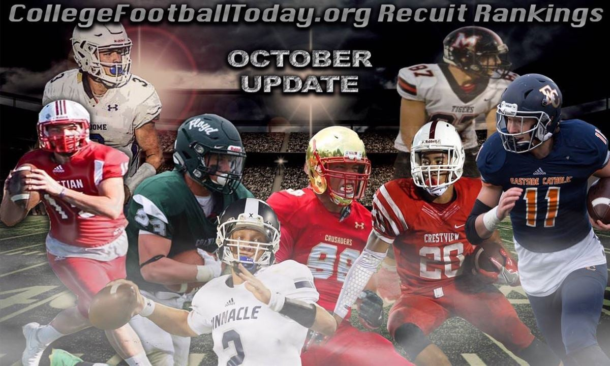 2019 Top 300 FB Recruits & Position Rankings Mid-Oct Update