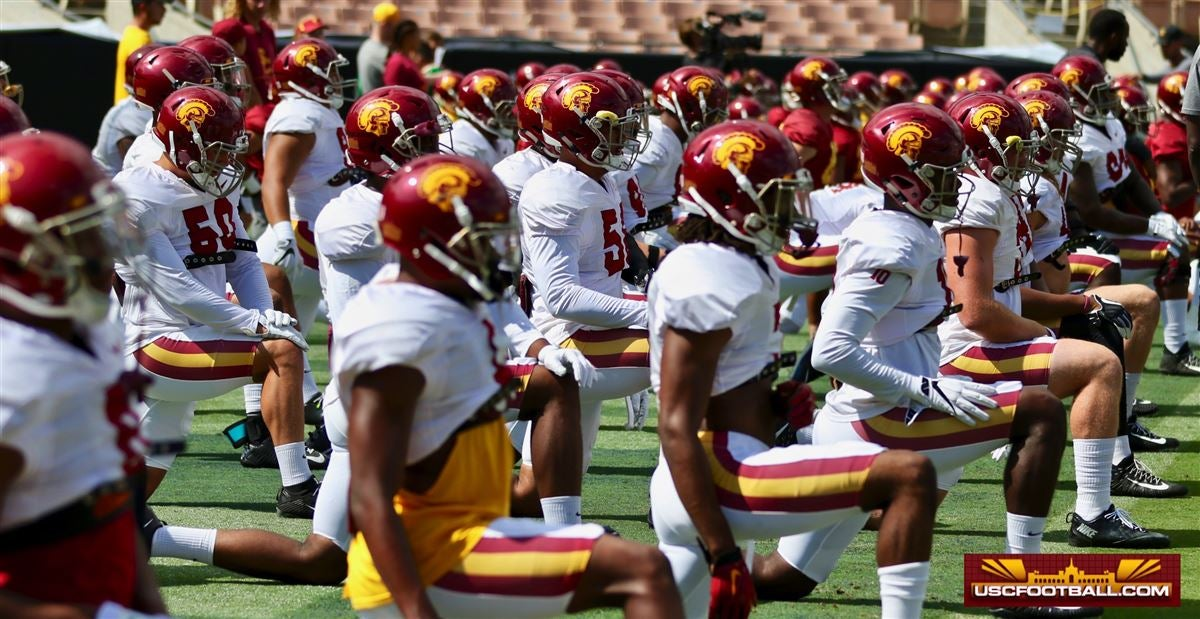 LOOK: USC's new workout highlights tie in 2020 fall cancelation