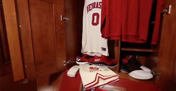 save off 30fa9 fceaa Huskers unveil throwback hoops uniforms