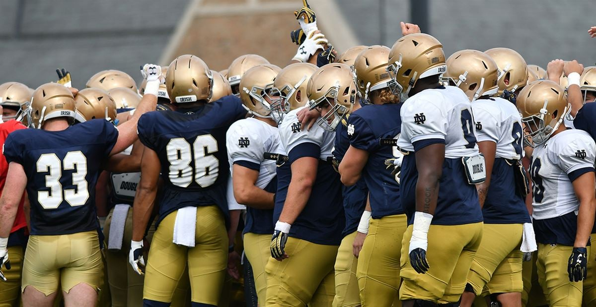 Who And What To Watch: Notre Dame's Saturday Practice