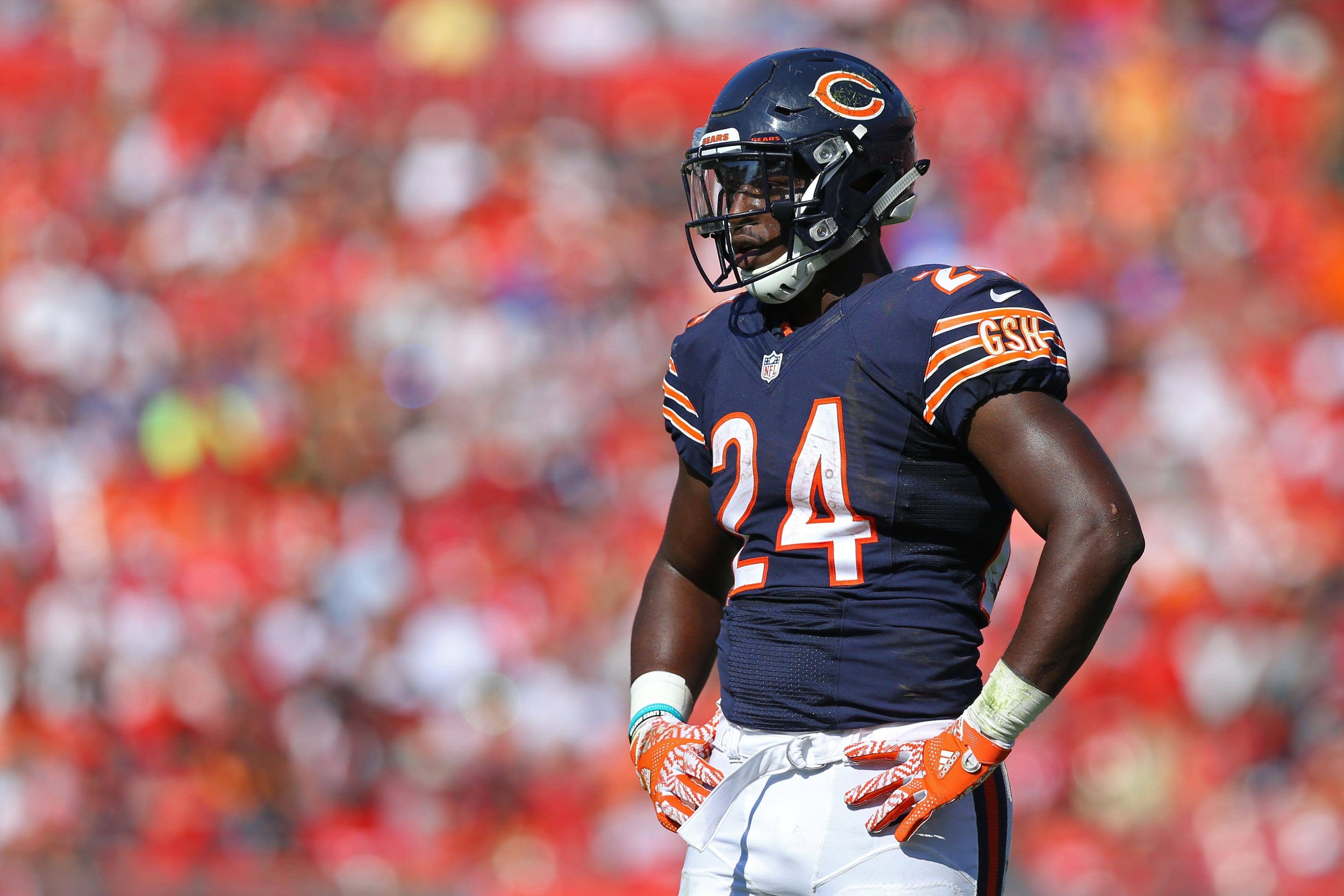 Jordan Howard breaks the Chicago Bears all time rookie rushing record