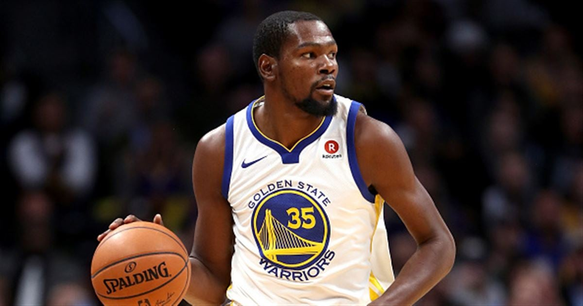 NCAA Tournament 18: Golden State Warriors star Kevin Durant makes funny bet with teammate on Texas-Nevada