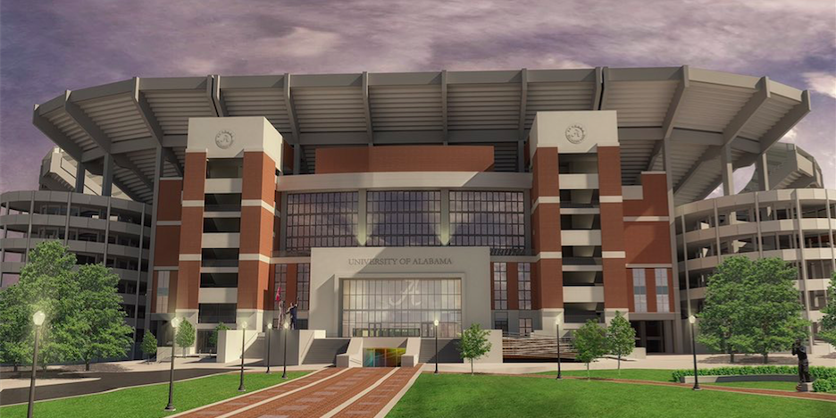 Board Of Trustees Approves New Plans For Bryant Denny Stadium