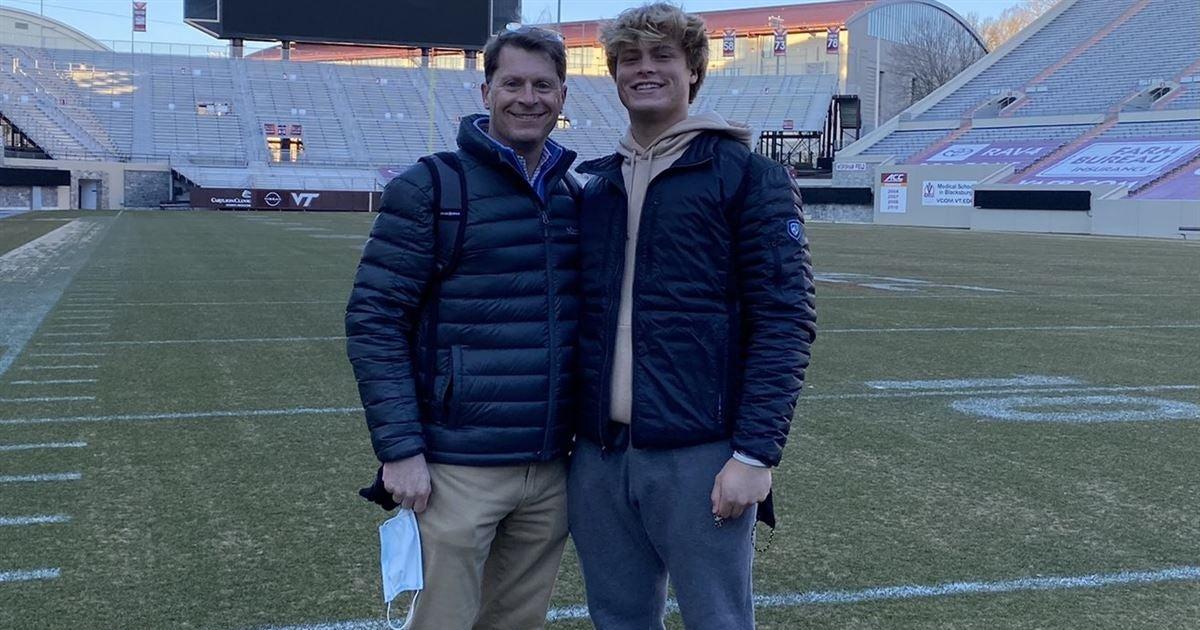 Mississippi QB checks out Virginia Tech