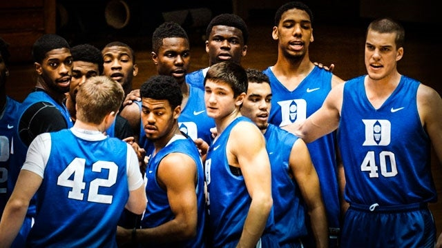 VIDEO Duke Basketball Closed Practice