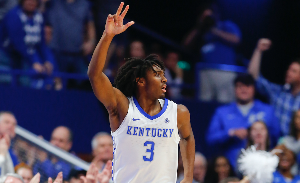 Tyrese Maxey Writes His Chapter In Kentucky Louisville Rivalry