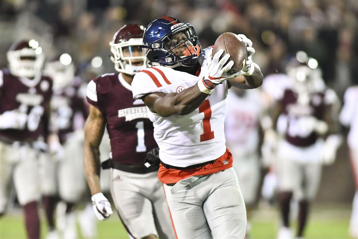 Brown, Ole Miss receivers ranked near top in college football