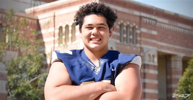 Four-Star OL Sean Rhyan Is Looking at UCLA and Three Others