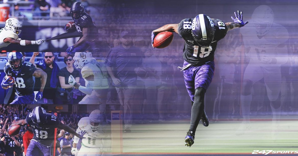 Don T Deny Him Tcu Star Jalen Reagor Is Ready For His Moment
