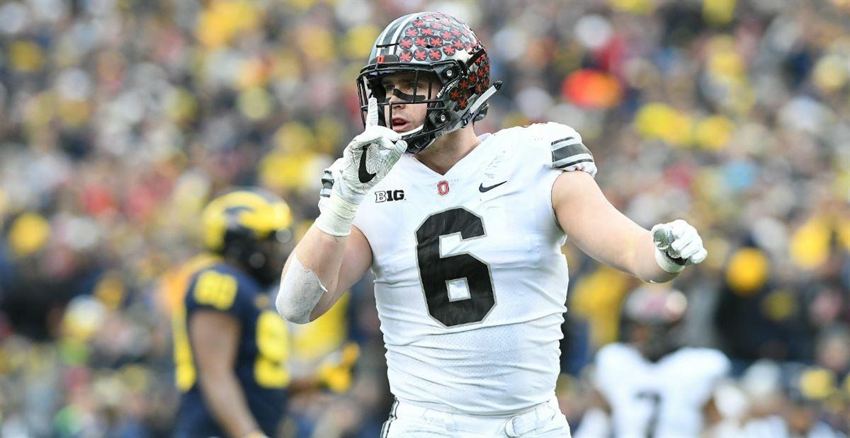 Sam Hubbard, Ohio State, Weak-Side Defensive End