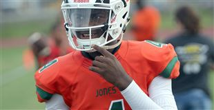 QB Jones, UCF taking a chance on each other