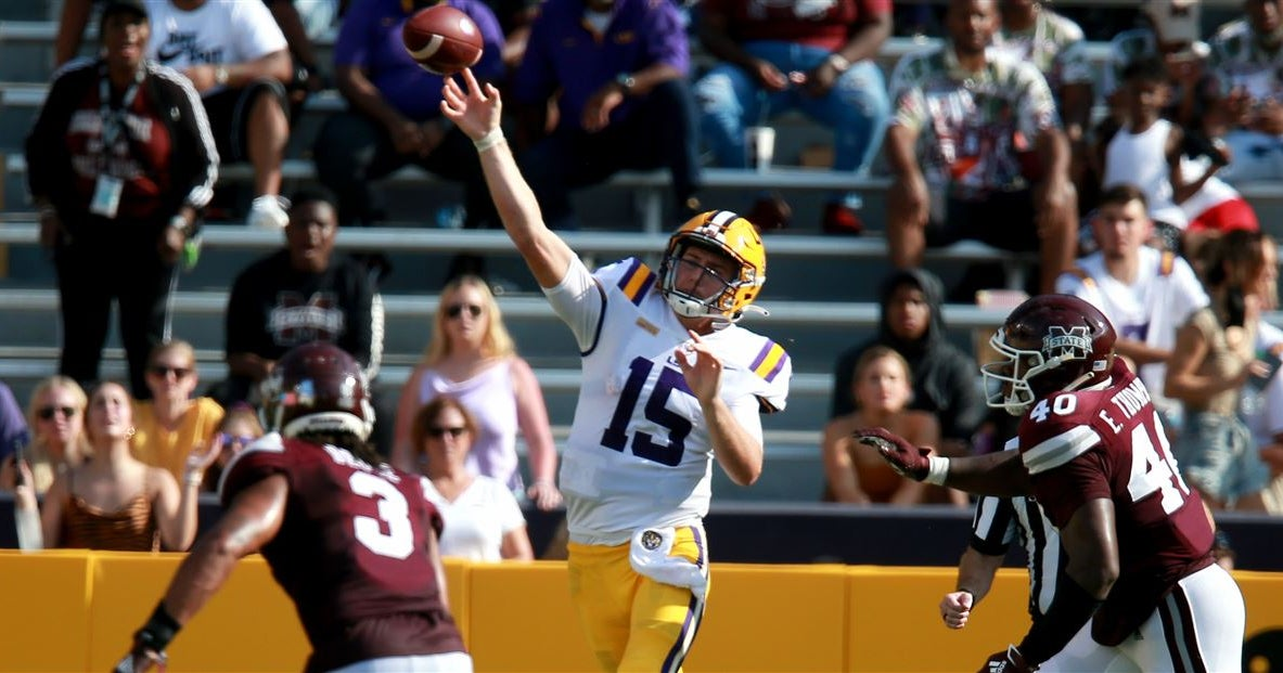 Myles Brennan is 'old-school' LSU QB in 'new-school' system