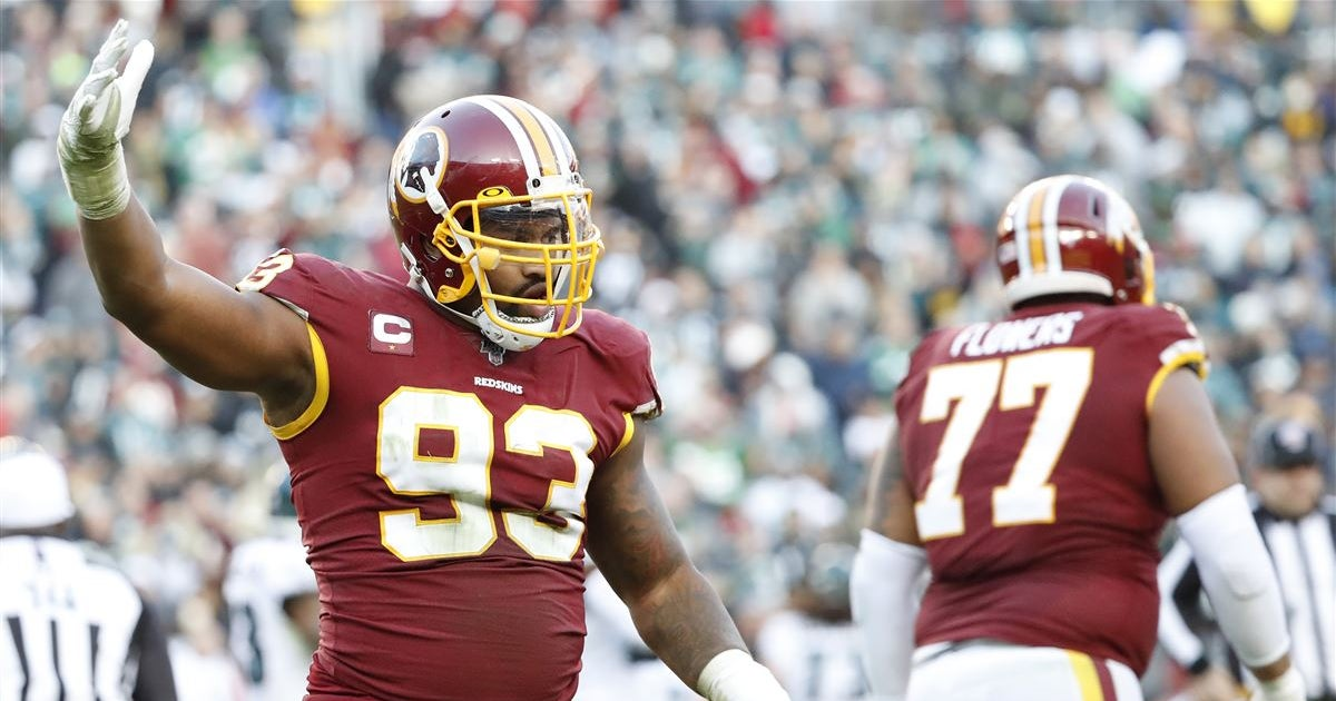Redskins veteran Jonathan Allen already impressed by Chase Young