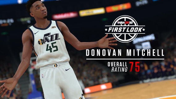 quality design fb074 fb6a9 Donovan Mitchell, Utah, Point Guard