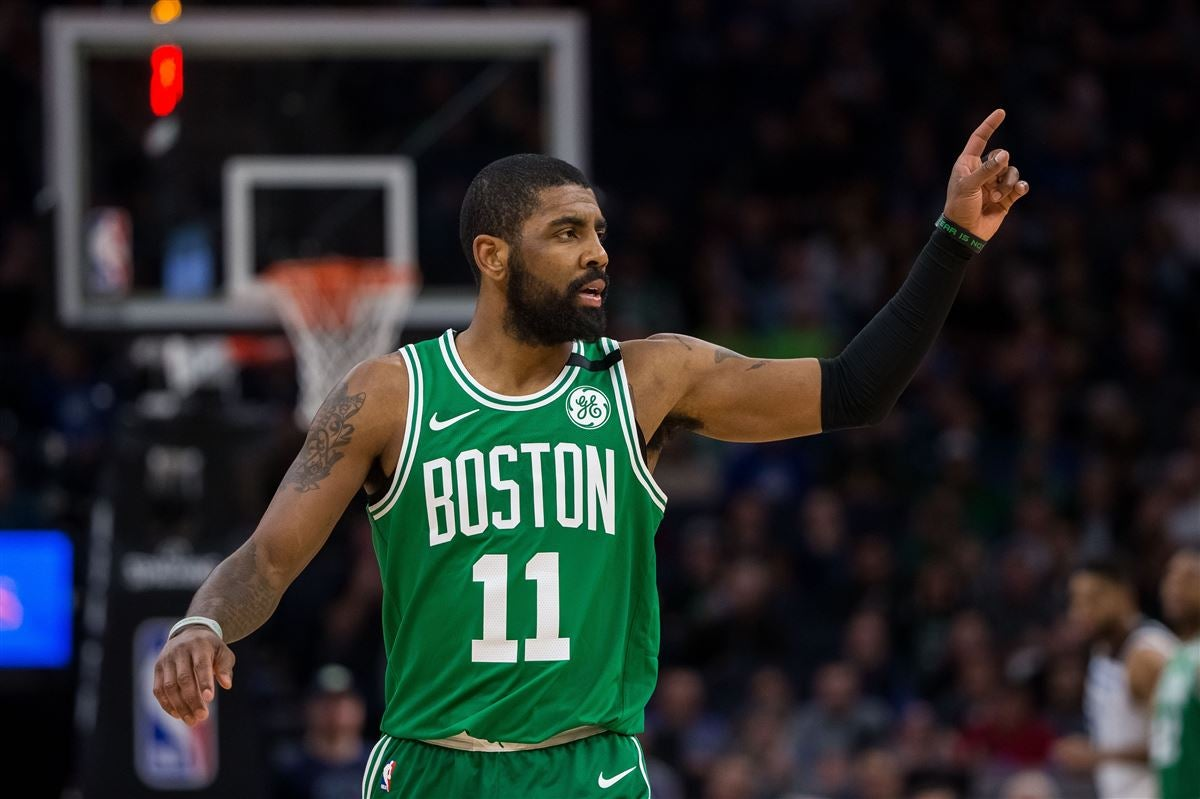 "Report: Kyrie Irving and Celtics have a ""mutual understanding"""