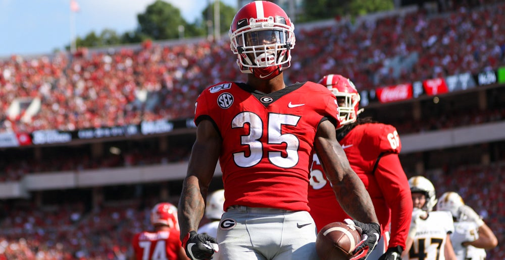 Browns sign UGA RB Brian Herrien as un-drafted free agent