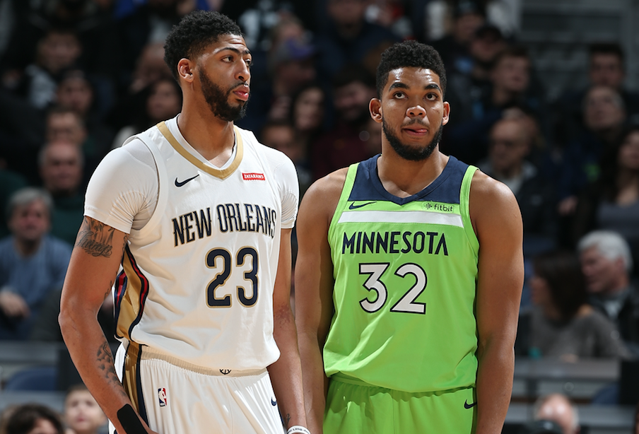 League High 31 Wildcats On Opening Night Nba Rosters