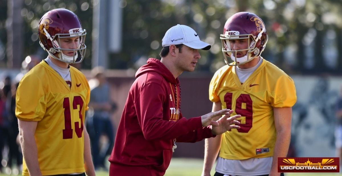 USC Fall Camp 2018 Quarterback Charting