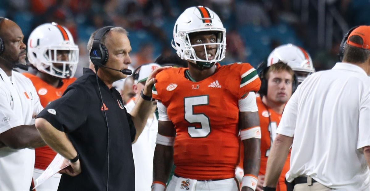 Sexually-explicit video has Miami QB NKosi Perry in hot water