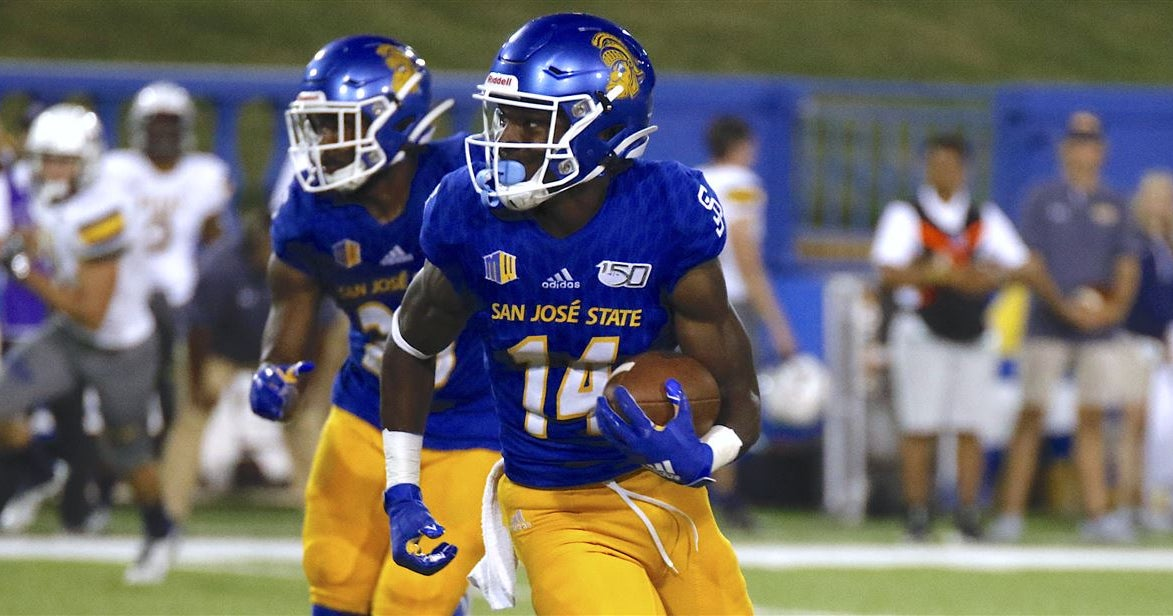 SJSU's 2020 football schedule announced