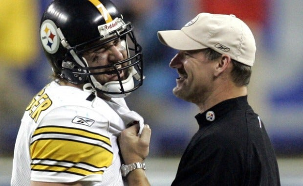 Ben Roethlisberger, Bill Cowher, Super Bowl XL