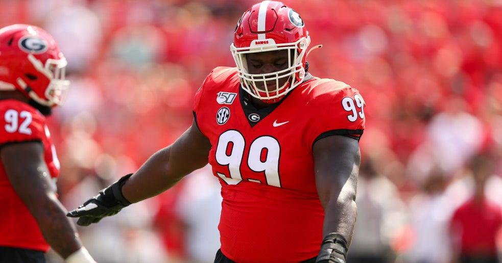 Georgia football injury report for South Carolina