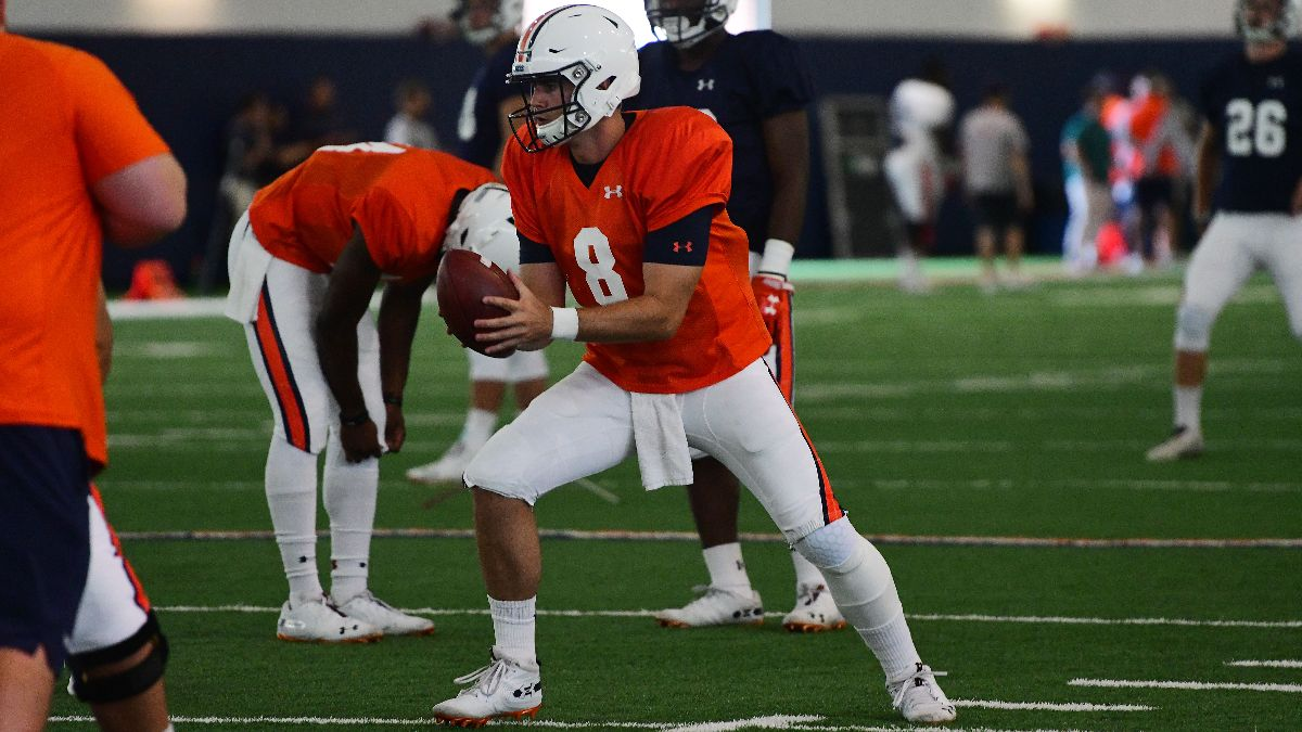 Scenes from Auburn's first practice in full pads