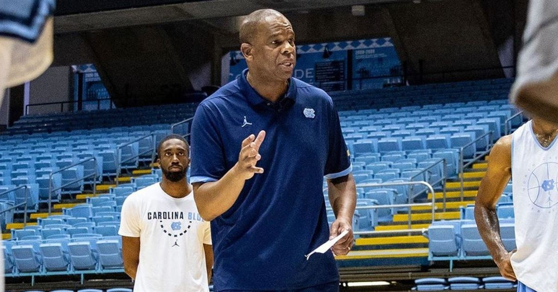 Hubert Davis Conducts First Practice as Head Coach