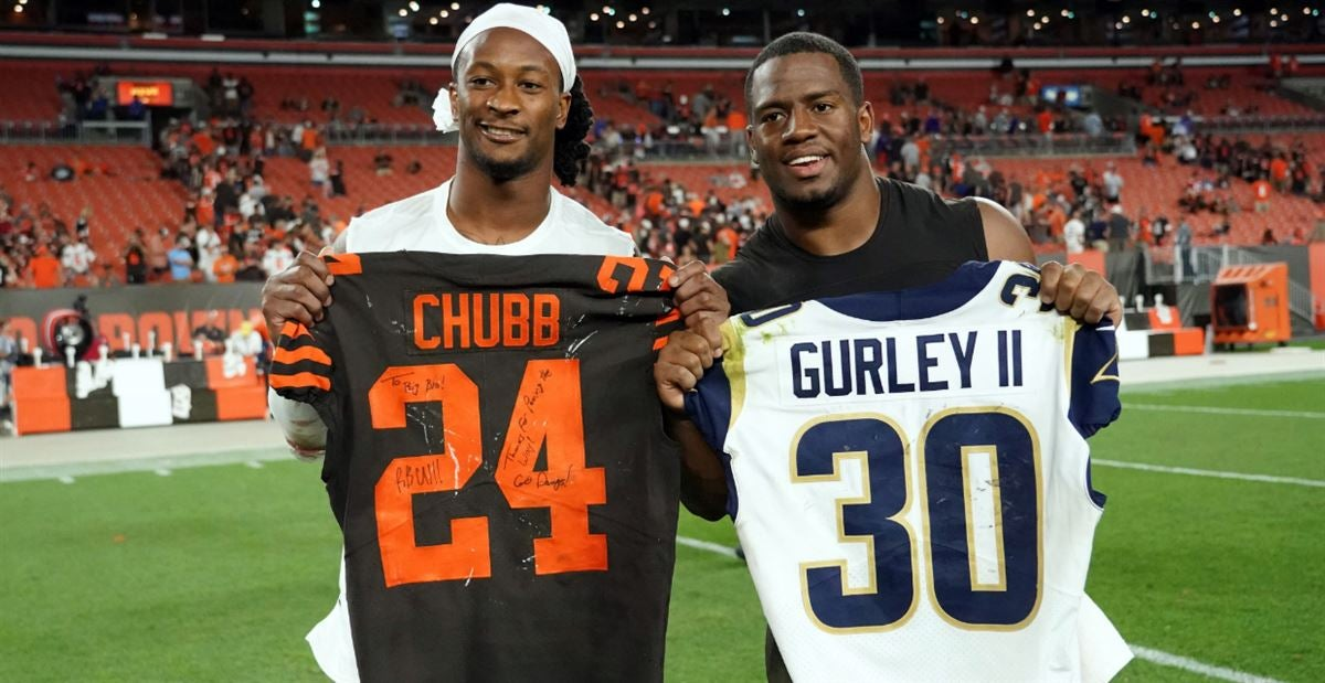 san francisco d13bf a8992 Watch: Two former Georgia greats reunite in NFL