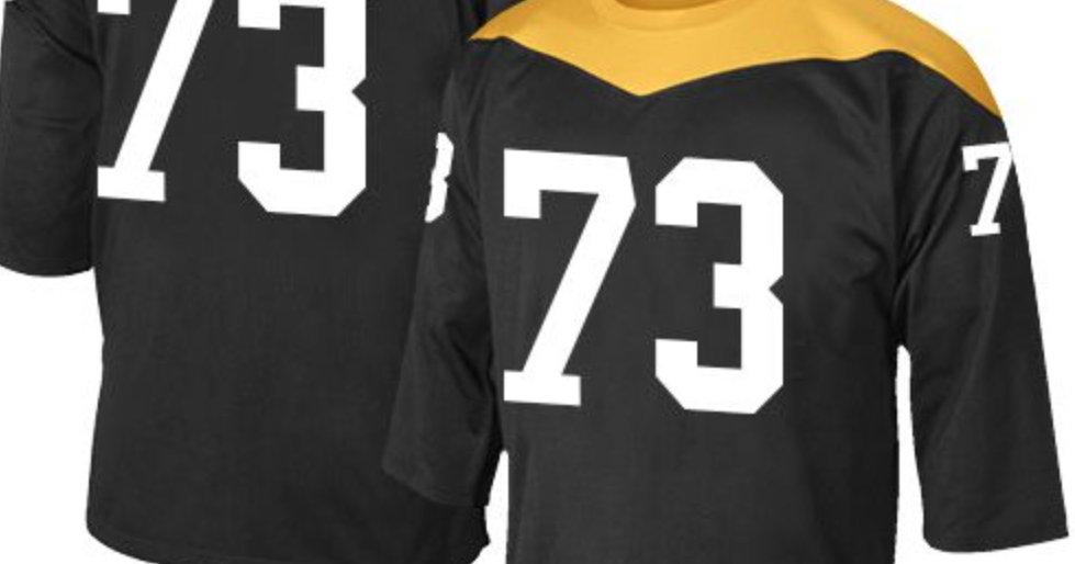 timeless design 4e247 df13a LOOK: Possible Steelers 2018 throwback jersey
