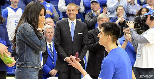 Kentucky Wildcats Derek Willis Explains Why He Proposed To His