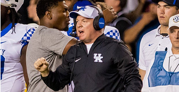 Stoops and staff on verge of finishing the rebuild at Kentucky
