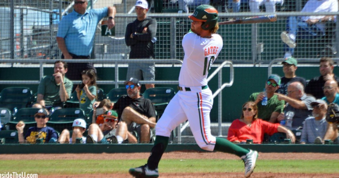 Hurricanes drop from No. 1 to No. 7 after being swept by Gators