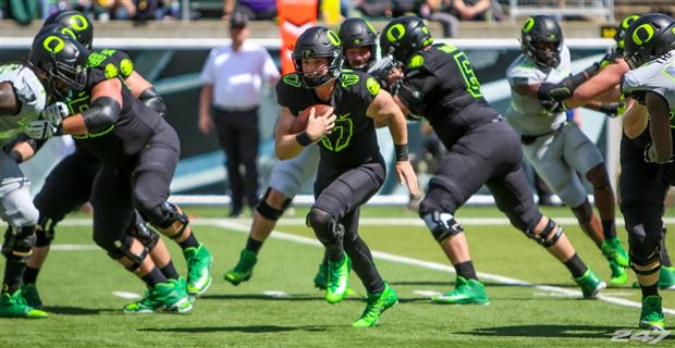 5 Impressions From Oregon S Spring Game