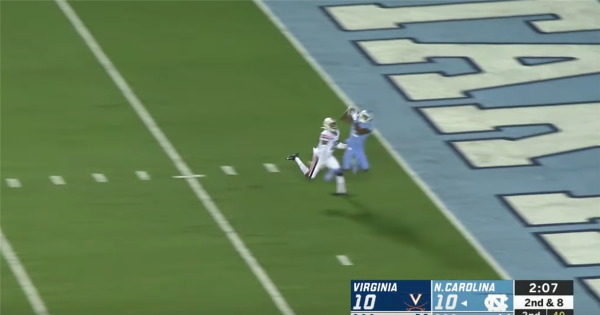 Highlights from UNC's 38-31 Loss Against Virginia