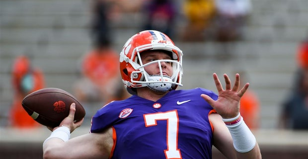 competitive price 436c8 cc212 New Clemson backup quarterback Chase Brice is 'Brett Favre-ish'