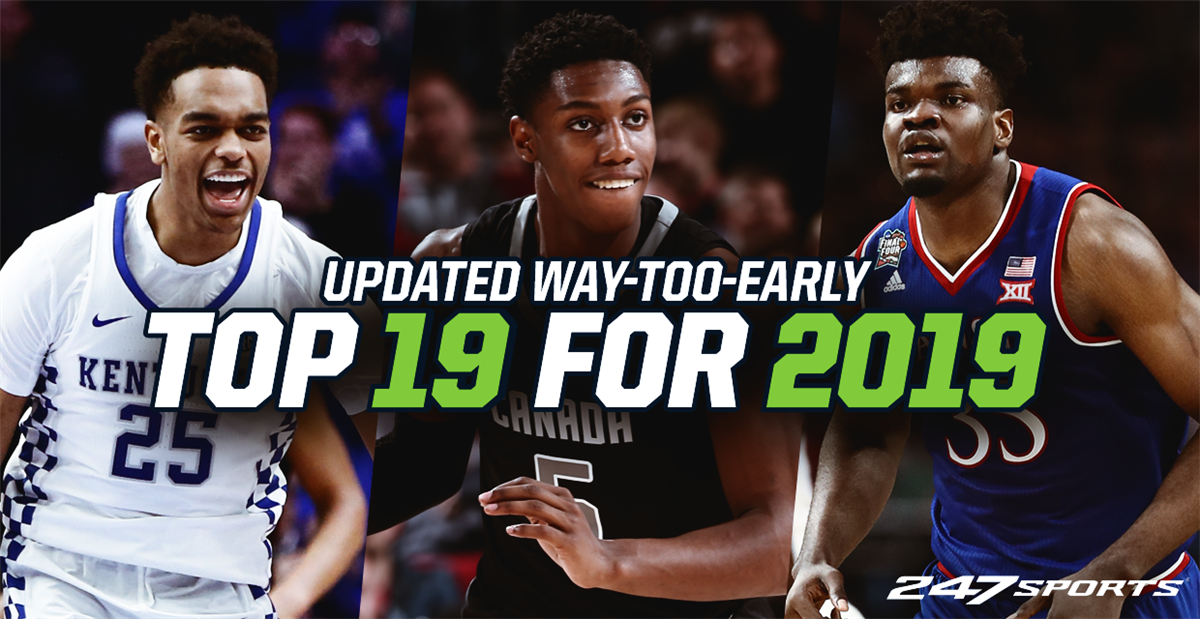 fb704c2176bd Updated Top 19 college basketball teams for 2019