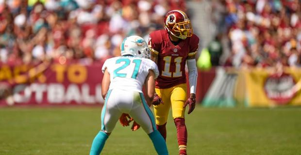 Washington Redskins Rashad Ross GAME Jerseys