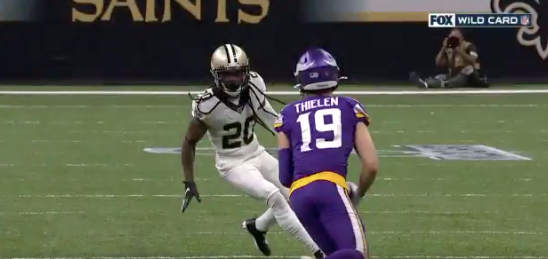 WATCH: Saints start strong as Jenkins jars fumble, Bell recovers