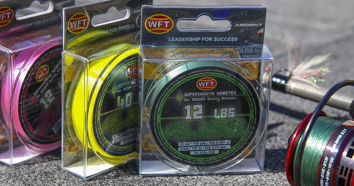 Gliss supersmooth monotex fishing line review for Gliss fishing line
