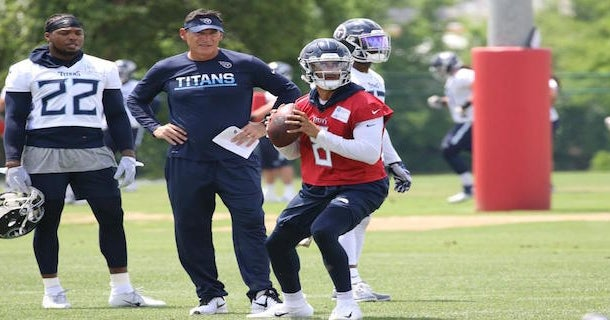 Tennessee Titans Offseason OTAs  Highlights from practice e69000cae